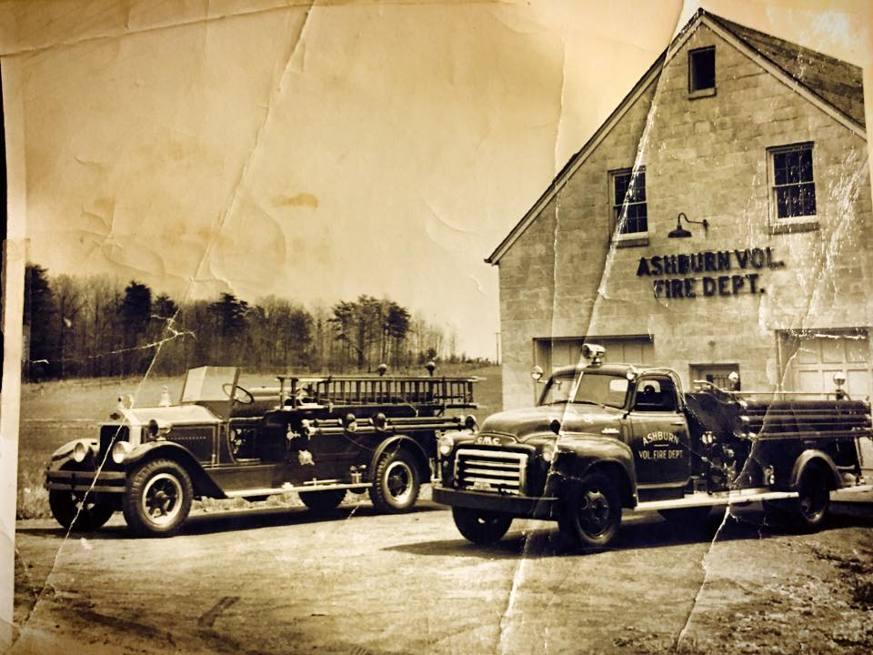 Ashburn Volunteer Fire Station 6 1945