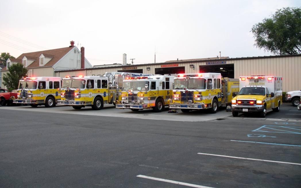 Ashburn Volunteer Fire Station 6 2000s