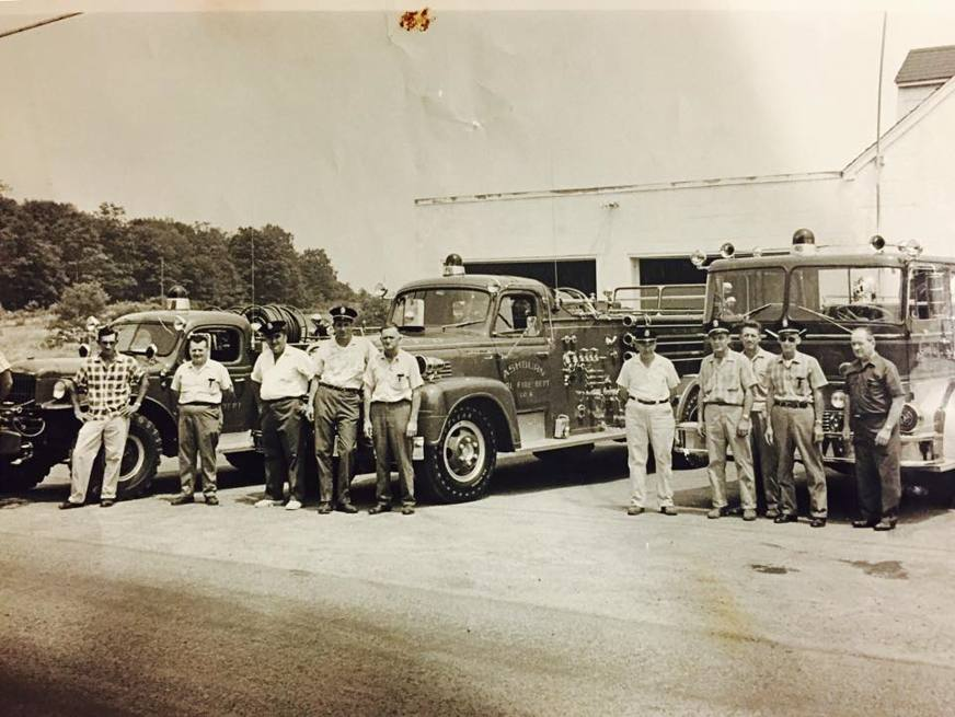 Ashburn Volunteer Fire Station 6 1950s