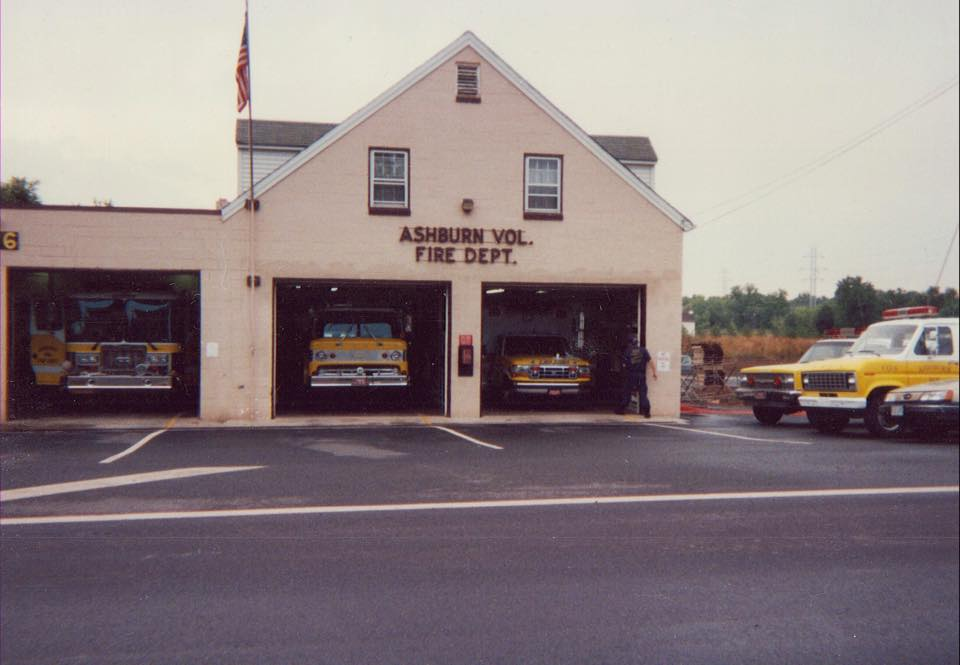 Ashburn Volunteer Fire Station 6 1970s