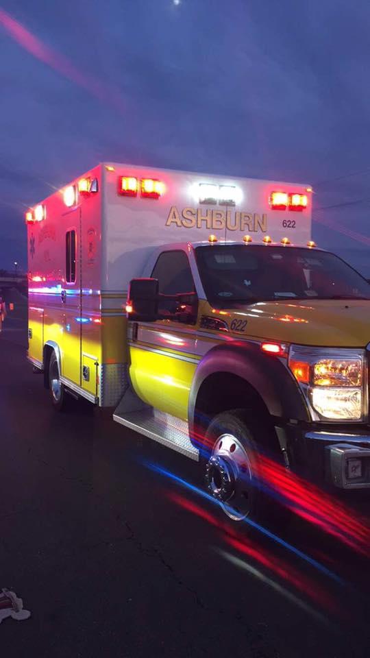 Ashburn Ambulance in Motion