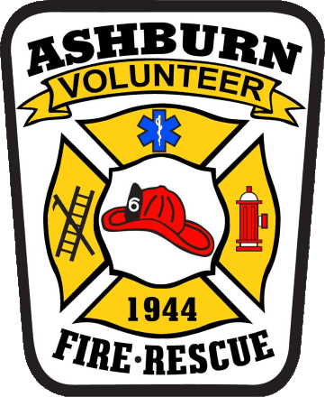 Ashburn Volunteer Fire and Rescue Department Patch