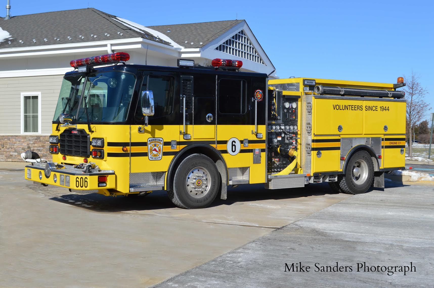 Ashburn Volunteer Fire Engine 606 - Loudoun County, VA