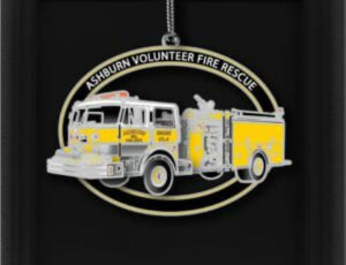 The 2020 AVFRD Christmas Ornament is Now Available!