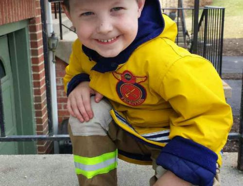 Throw Back Thursday – Meet Garret Ownes, Our Littlest Volunteer – 8/25/2014