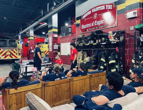 After a Night of Training, Sunday Night Volunteer Crew Celebrates Summer!